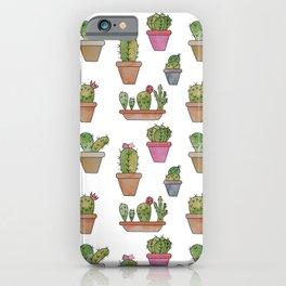 Cactus watercolor iPhone Case