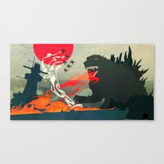 Tokyo or Bust Canvas Print