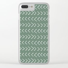 Arrows on Laurel Clear iPhone Case