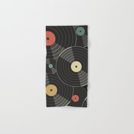 Heart of a Vinyl Lover Hand & Bath Towel