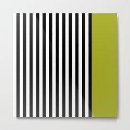 Liquorice allsorts, green Metal Print