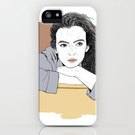 Waiting Jodie iPhone Case