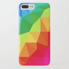 Rainbow Low Poly iPhone Case