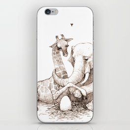 Expecting iPhone Skin