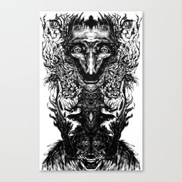 Test your Mind (t-shirt) Canvas Print