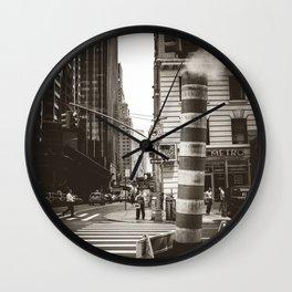 City Steam Wall Clock