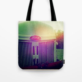 Sunset grill Tote Bag