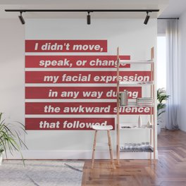 James Comey Quote Wall Mural