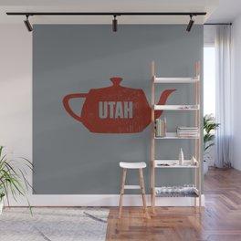 Utah Teapot Wall Mural