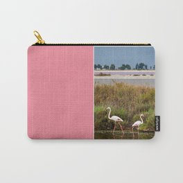 Flamingos in Camargue Carry-All Pouch