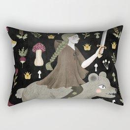 turnip warrior Rectangular Pillow