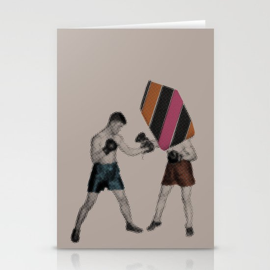 Mixed Martial Art Stationery Cards