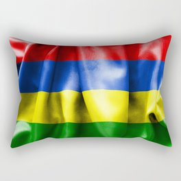 Mauritius Flag Rectangular Pillow