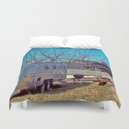 winery airstream Duvet Cover