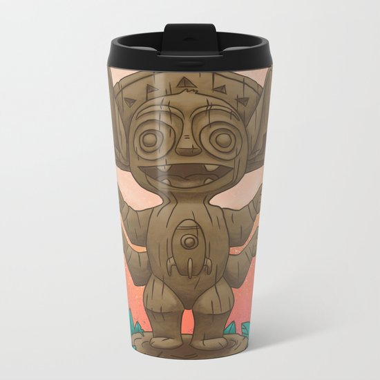 Tiki 626 Metal Travel Mug