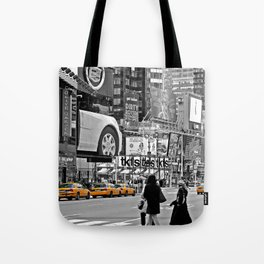 NYC - Yellow Cabs - Times Square Tote Bag
