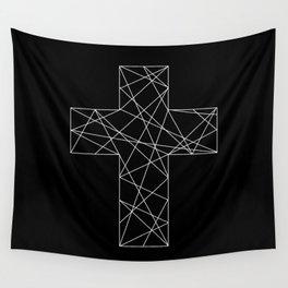 Geometrical cross // Tara Wall Tapestry