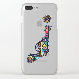 Lovegun Clear iPhone Case