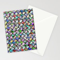 Patchwork Rainbow Stationery Cards