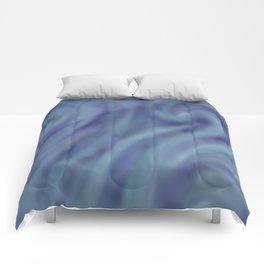 BLUE SWIRL Comforters
