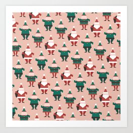 Toy Factory 02 (Patterns Please) Art Print