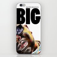 notorious big iPhone & iPod Skins featuring Notorious BIG by Jamaal lamaaj studio.