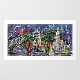 Experience Los Angeles Art Print