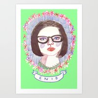 ghost world Art Prints featuring Ghost World by EmilyScribbles