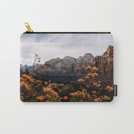 Zion Canyon through the Flora Carry-All Pouch