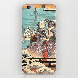 Hiroshige iPhone Skin