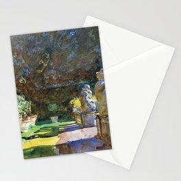 "John Singer Sargent ""Villa di Marlia, Lucca"" Stationery Cards"