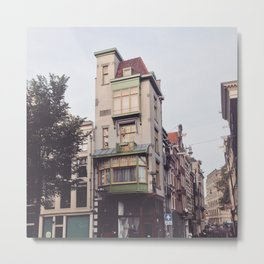 Special house in lovely Amsterdam Metal Print