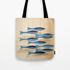 Fish on the Line Tote Bag