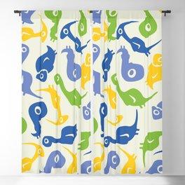 Cute Dino Kids Pattern Blackout Curtain