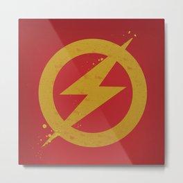 The Flash Artwork Metal Print