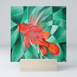 Marine Fire Fish or Lionfish Mini Art Print