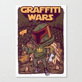 Graffiti Wars #1 Canvas Print