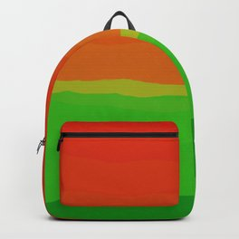 Candy Watermelon Abstract Backpack