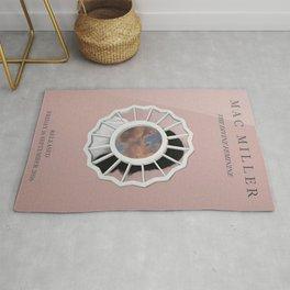 Mac Miller Devine Feminine Album Print  Music Print  Unframed Indie Rock Art  Home Decor Rug