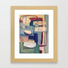 Thin Blue Line Framed Art Print
