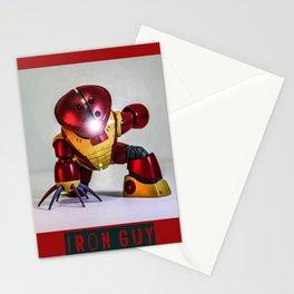 iron guy Stationery Cards