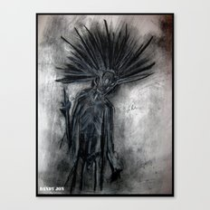 Undead Punk Entity Canvas Print