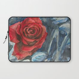 Water Color Rose Study  Laptop Sleeve
