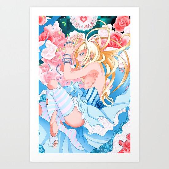 Alice in Boyland-Alice Art Print