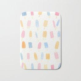 Pastel Popsicles Bath Mat