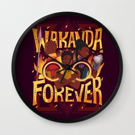 Women of Wakanda Wall Clock