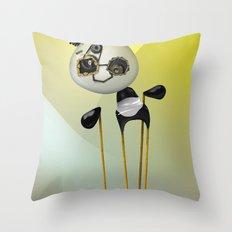 YellowPanda Throw Pillow
