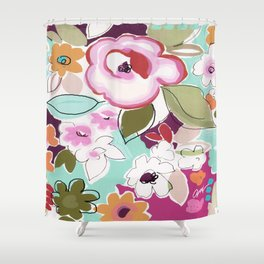 Dufy floral  Shower Curtain