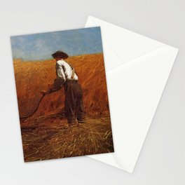 The Veteran In A New Field 1865 By WinslowHomer | Reproduction Stationery Cards