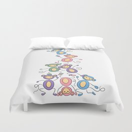 Dominance Hierarchy Duvet Cover